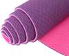 Custom TPE Yoga Mats with Double Colors , Best-selling Yoga Mats