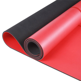 Best Custom Print Anti Slip Pilates and Floor Exercises Fitness Eco Friendly Natural Rubber Pu Yoga Mat