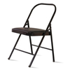 Yoga Backless Metal Chair Folding Steel Pipe Yoga Chair