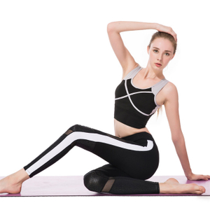 New Fashion Sports Bra Women Yoga Clothes Two Pieces Fitness Suits