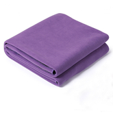 Fitness microfiber fabric wholesale non slip warm yoga towel mat