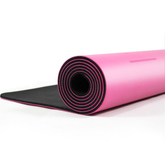 Wholesale eco-friendly custom print logo Anti Slip Natural Pu Rubber Yoga Mat