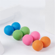 Custom High Quality Yoga Roller Lacrosse Ball TPE Peanut Massage Ball