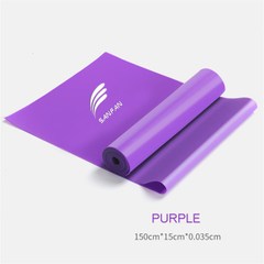 New Trend Home Fitness Resistance Loop Bands, Professional Strength Training and Physical Therapy Pilates Flexbands Natural Latex Elastic Band