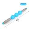 New Yoga Health Fitness Hedgehog Ball Neck Leg Hand Muscle Massage Stick