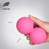 New Product High Quality Double Lacrosse Ball, Gym Fitness Massage Ball,Peanut Shape Yoga Exercise Ball