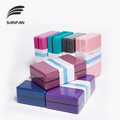 Custom High Density EVA Yoga Block Exercise Pilates Meditation Sports Foam Brick Stretching Aid Body Yoga Foam Block
