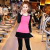 Custom fashion women quick drying fitness workout gym wear set