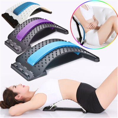 Wholesale Lumbar Massage Orthosis Back Stretcher Lumbar Tractor Spinal Massager