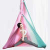 Best Anti Gravity Gradient Color Flying Yoga Bed Low Stretch Aerial Yoga Hammock Swing