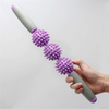 New Yoga Slimming Massage Stick Muscle Relaxation Tool Multi-Functional Yoga 3/5 Hedgehog Balls Massage Stick