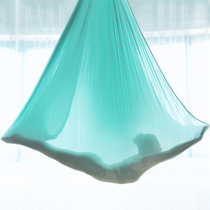 High Quality Silk Fabric Fitness Aerial Yoga Swing Sling Trapeze Inversion Equipment Anti-Gravity Yoga Hammock