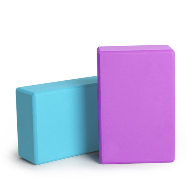 Custom Logo Wholesale Eco-Friendly High Density Recycled EVA Foam Yoga Block