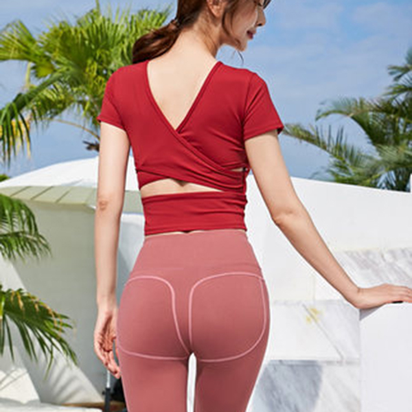 Shape yoga wears Fitness Gym cloths Women tights sexy pants