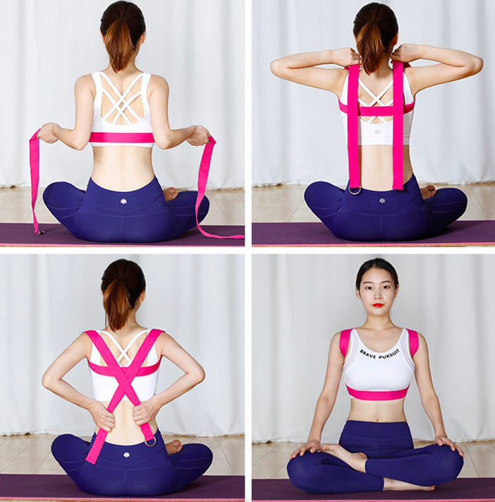 yoga strap to improve yoga practice-sanfan